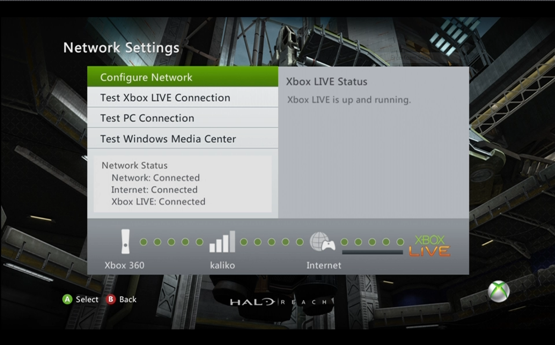 how to connect to xbox live manually